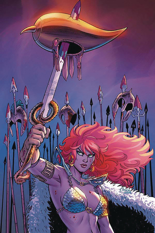 Red Sonja #12 (Conner Virgin Cover)