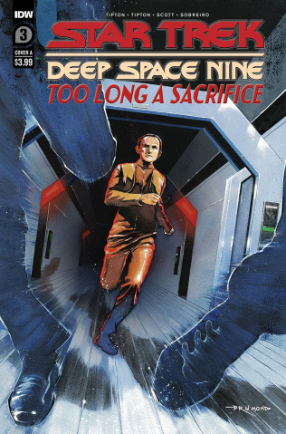Star Trek: Deep Space Nine - Too Long A Sacrifice #2 (Drumond Cover)