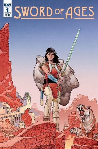 Sword of Ages #1 (Rodriguez Cover)