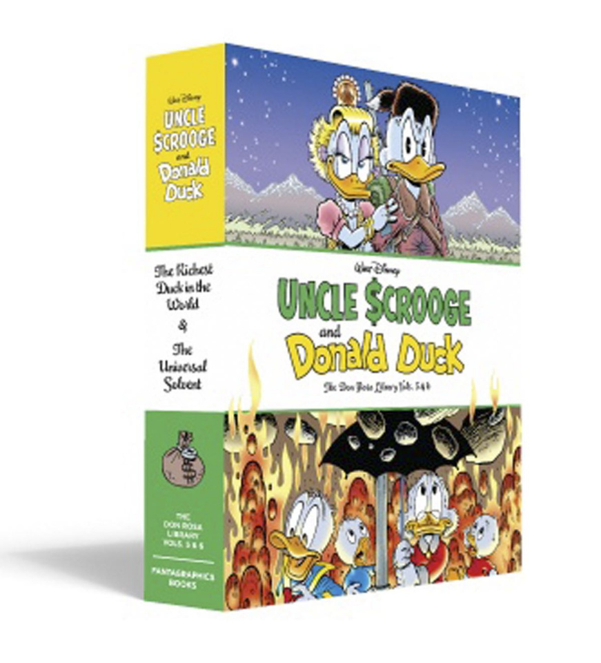The Don Rosa Duck Library Vols. 5 & 6 (Box Set)