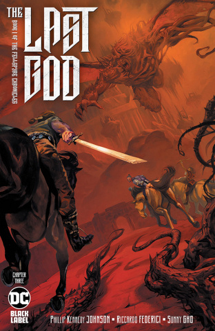 The Last God #3 (2nd Printing Recolored Cover)
