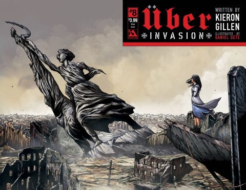 Über: Invasion #8 (Wrap Cover)