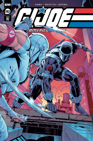 G.I. Joe: A Real American Hero #282 (10 Copy John Royle Cover)
