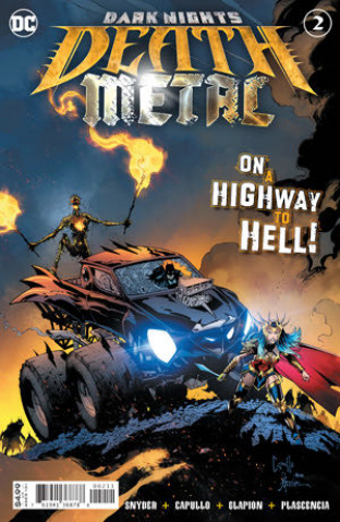 Dark Nights: Death Metal #2 (Greg Capullo Embossed Foil Cover)