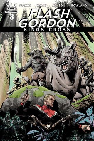 Flash Gordon: Kings Cross #3 (Moustafa Cover)