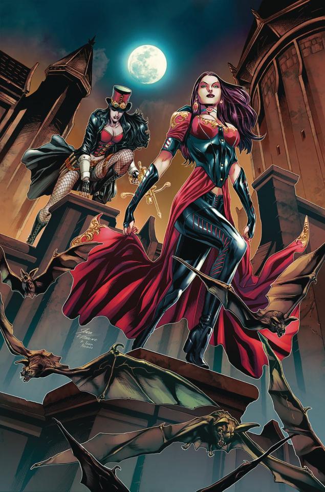 Van Helsing vs. Dracula's Daughter #4 (Vitorino Cover)