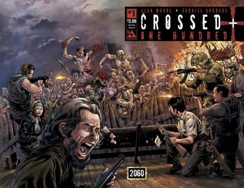 Crossed + One Hundred #1 (American History X Wrap Cover)