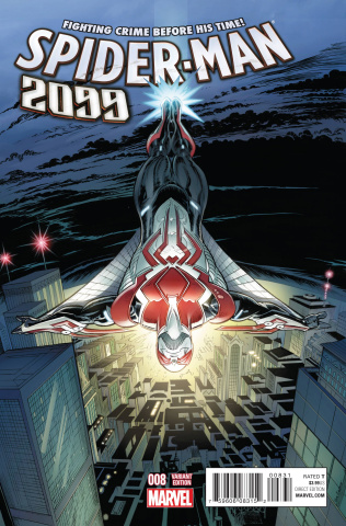 Spider-Man 2099 #8 (Von Eeden Classic Cover)