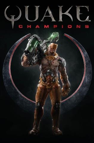 Quake: Champions #2 (Videogame Cover)
