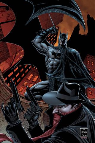 The Shadow / Batman #1 (20 Copy Van Sciver Cover)