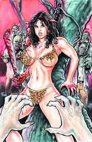 Cavewoman: The Zombie Situation #2 (Cover B)