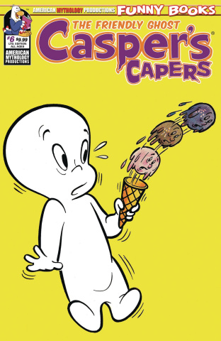 Casper's Capers #6 (Limited Edition Cover)