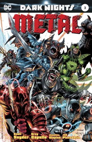 Dark Nights: Metal #3 (Lee Cover)