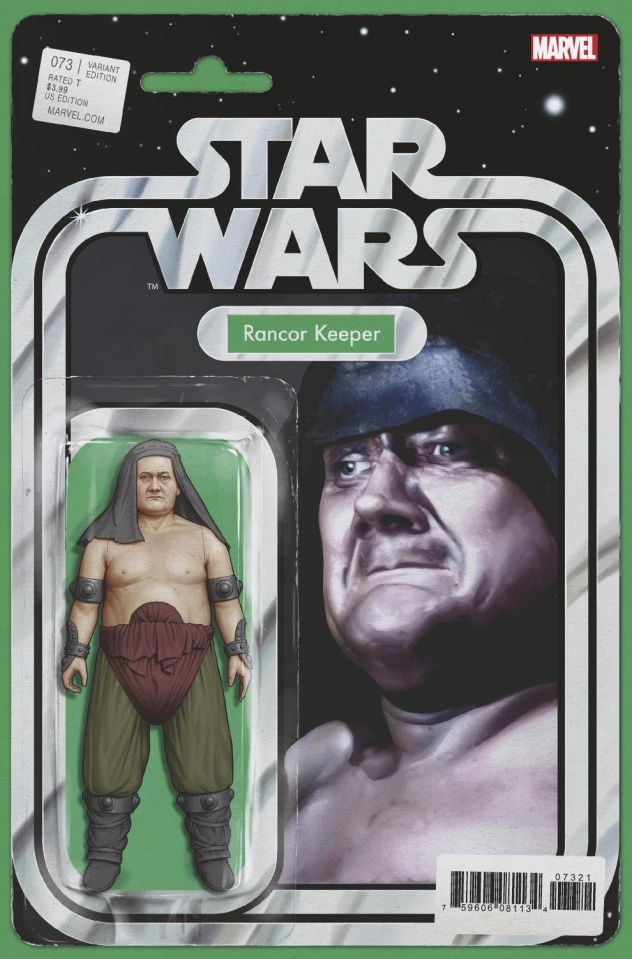 Star Wars #73 (Christopher Action Figure Cover)