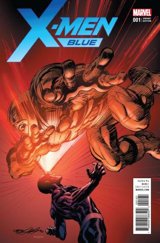 X-Men: Blue #1 (Neal Adams Cover)
