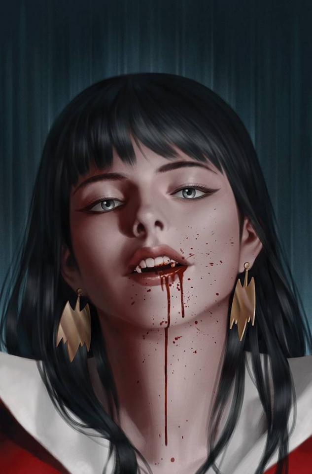 Vampirella: The Dark Powers #4 (Yoon Virgin Cover)