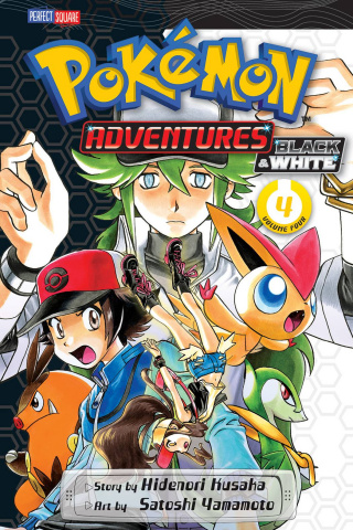Pokémon Adventures: Black & White Vol. 4