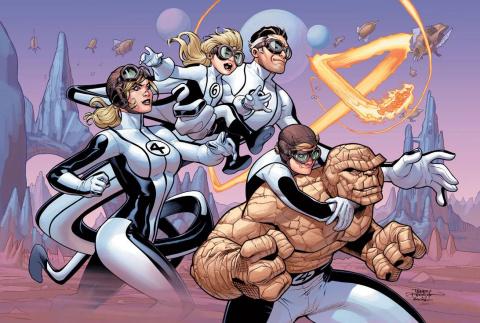 Fantastic Four #4 (Dodson Cover)