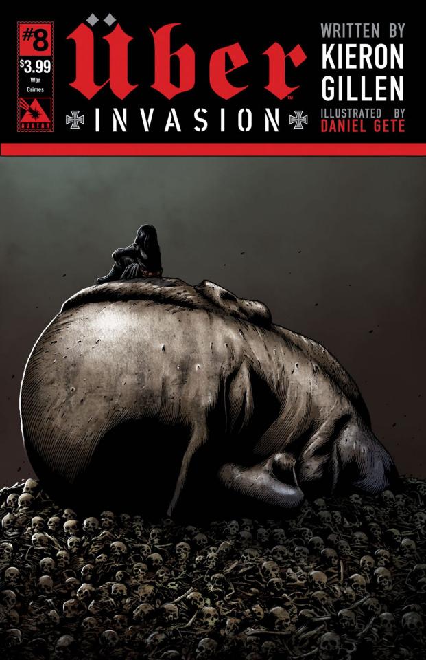 Über: Invasion #8 (War Crimes Cover)