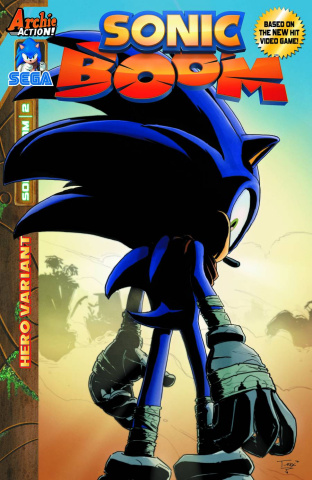 Sonic Boom #2 (T.Rex Cover)