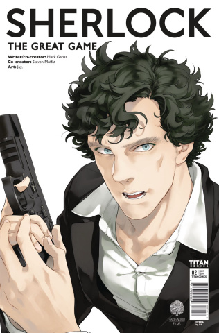 Sherlock: The Great Game #2 (Jay. Cover)