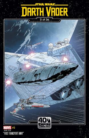 Star Wars: Darth Vader #2 (Sprouse Empire Strikes Back Cover)