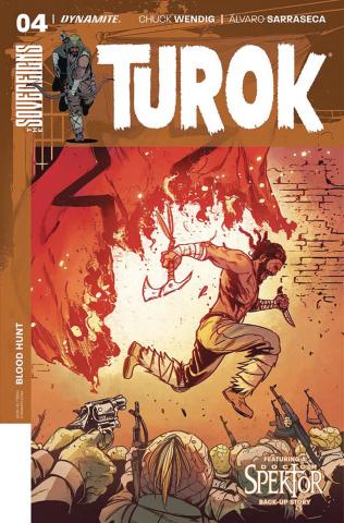 Turok #4 (Sarraseca Cover)