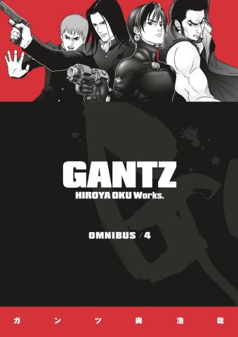 Gantz Vol. 4 (Omnibus)