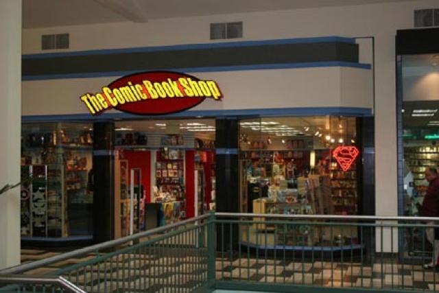 The Comic Book Shop