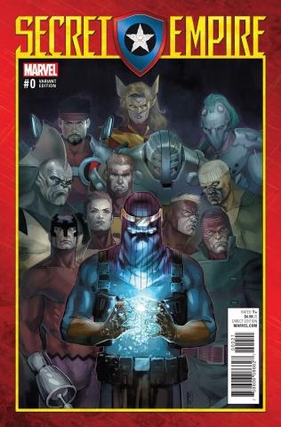 Secret Empire #0 (Reis Cover)