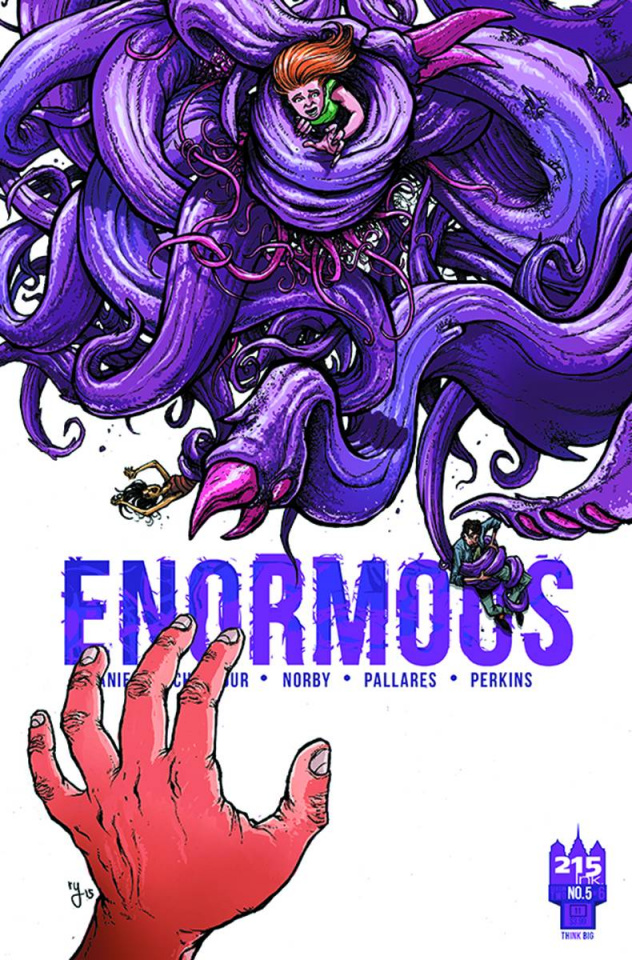 Enormous #5 (Lee Cover)