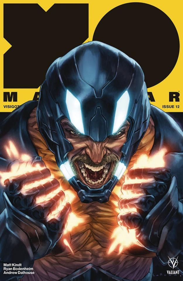X-O Manowar #12 (Larosa Cover)