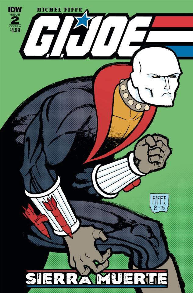 G.I. Joe: Sierra Muerte #2 (Fiffe Cover)