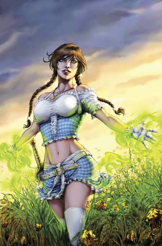 Grimm Fairy Tales: The Warlord of Oz #4 (Luis Cover)
