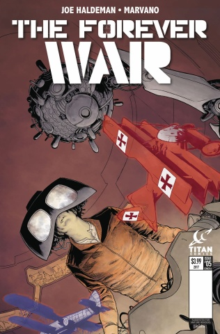 The Forever War #6 (Kurth Cover)