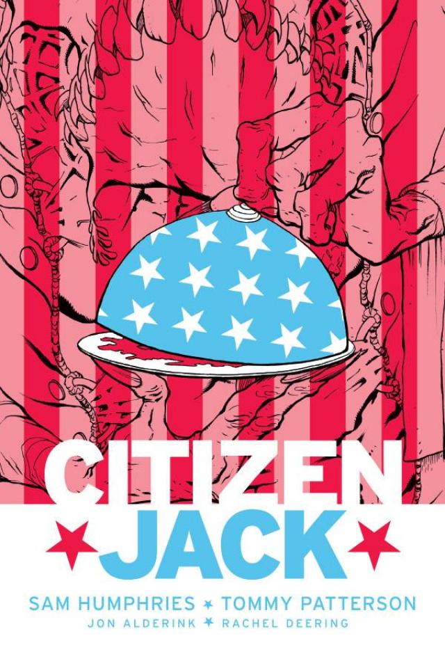 Citizen Jack #3 (Patterson & Todd Cover)