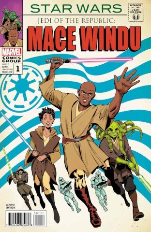 Star Wars: Mace Windu, Jedi of the Republic #1 (Homage Cover)
