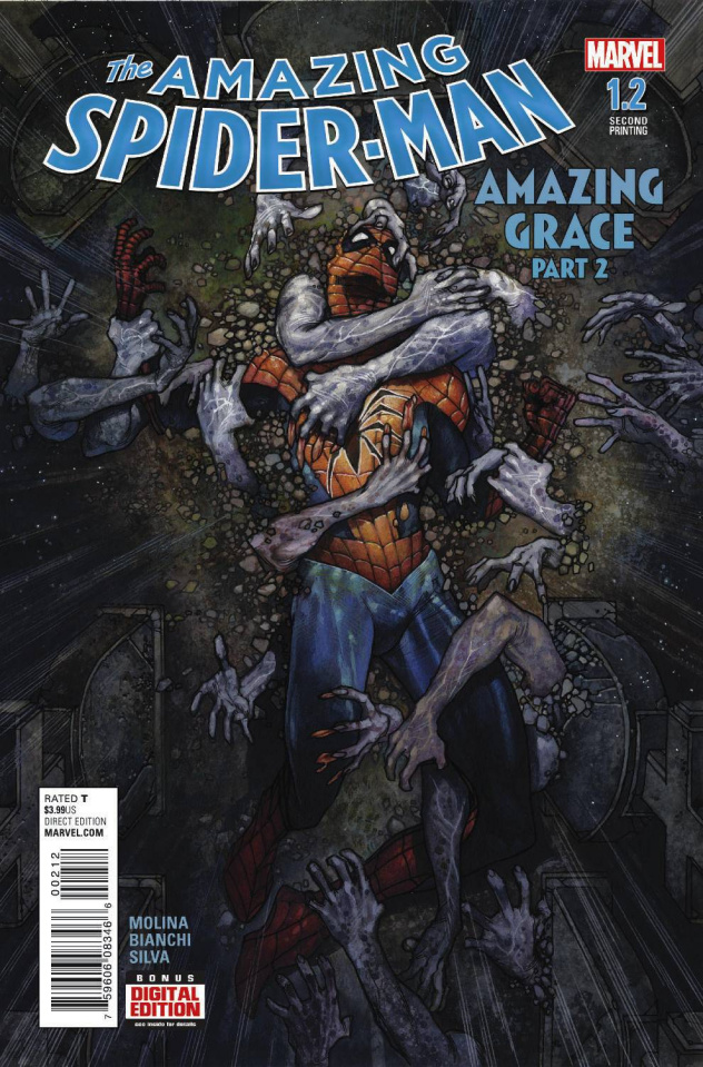 The Amazing Spider-Man #1.2 (Bianchi 2nd Printing)