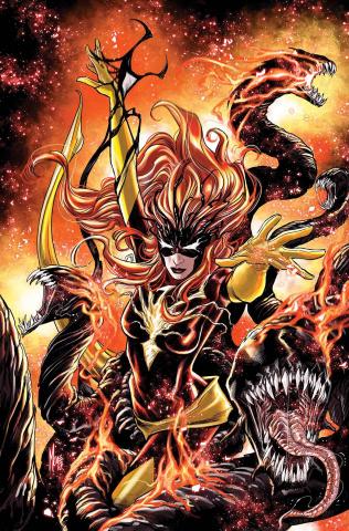 Jean Grey #7 (Venomized Phoenix Force Cover)