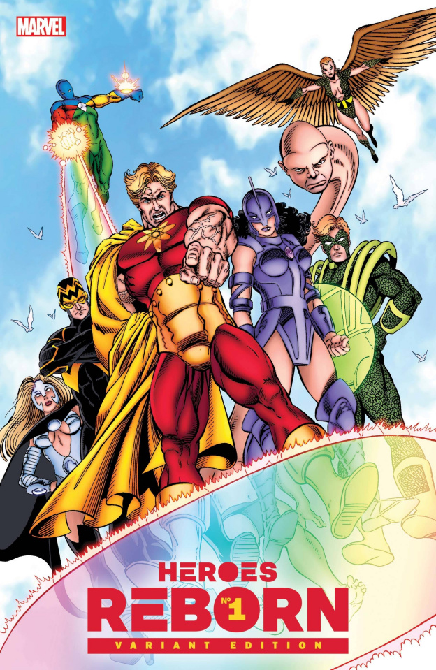 Heroes Reborn #1 (Perez Hidden Gem Cover)