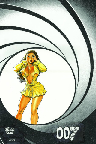 Cavewoman: Gangster #3 (Budd Root Special Edition)