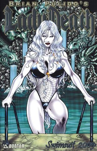 Lady Death Swimsuit 2005 (Platinum Foil Cover)