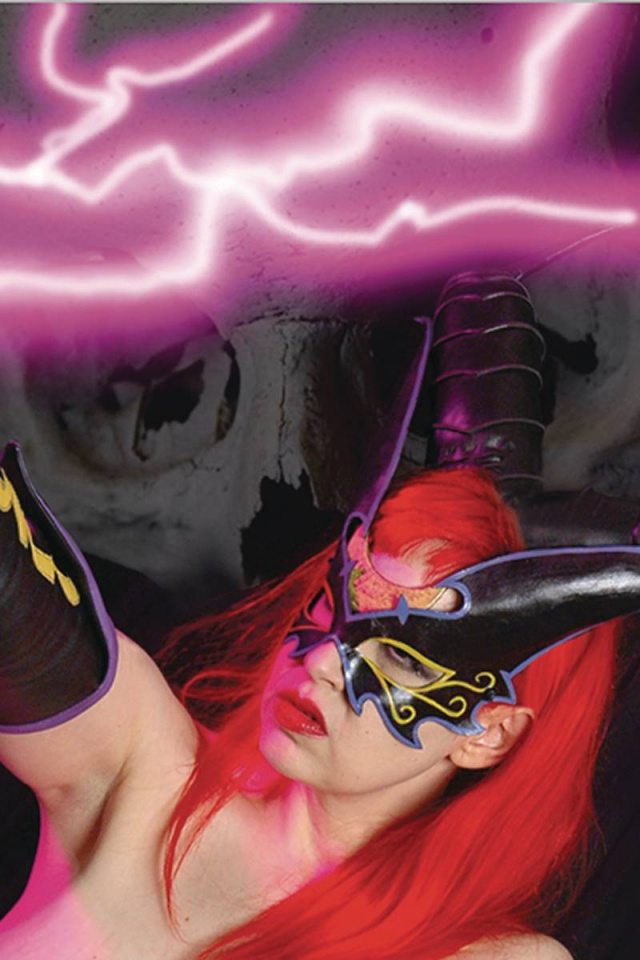 Tarot: Witch of the Black Rose #128 (Cosplay Photo Cover)