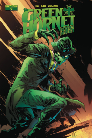 The Green Hornet: Reign of the Demon #2 (Lashley Cover)
