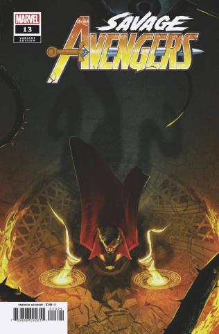 Savage Avengers #13 (Boss Logic Cover)