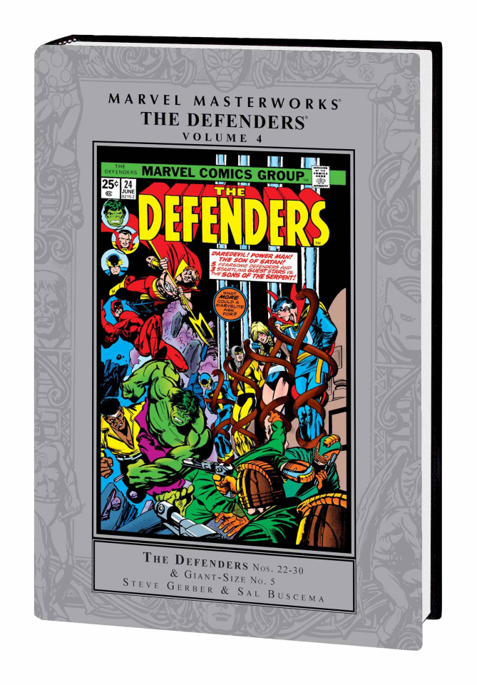 The Defenders Vol. 4 (Marvel Masterworks)