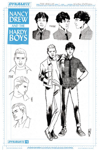 Nancy Drew and The Hardy Boys #1 (10 Copy Design Cover)