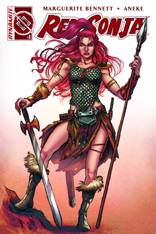 Red Sonja #1 (25 Copy Scott Unique Cover)