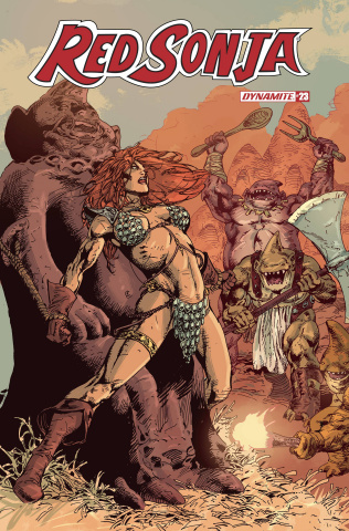 Red Sonja #23 (Castro Bonus Cover)