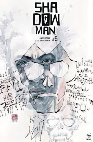 Shadowman #5 (Mack Cover)